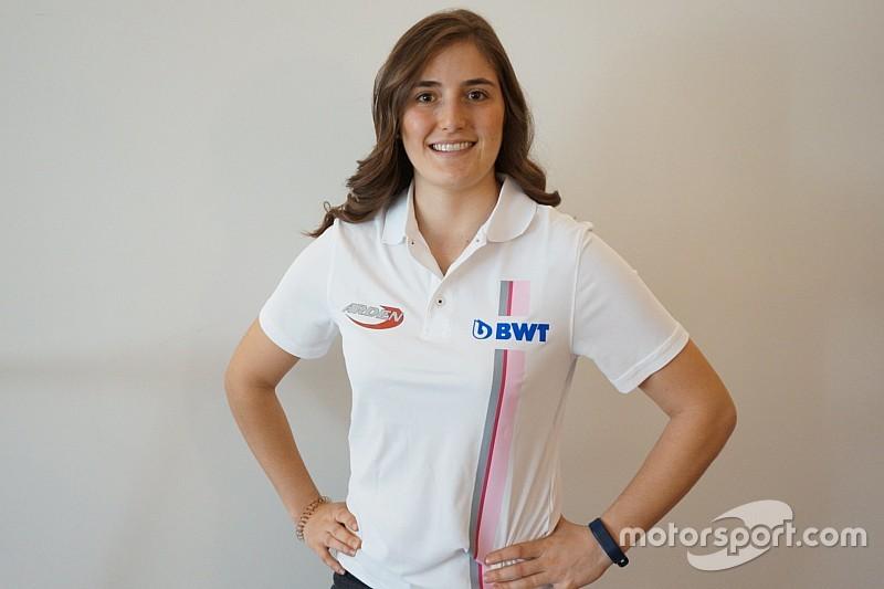 女性F1ドライバー誕生へ一歩前進? カルデロン、アーデンからF2に参戦決定