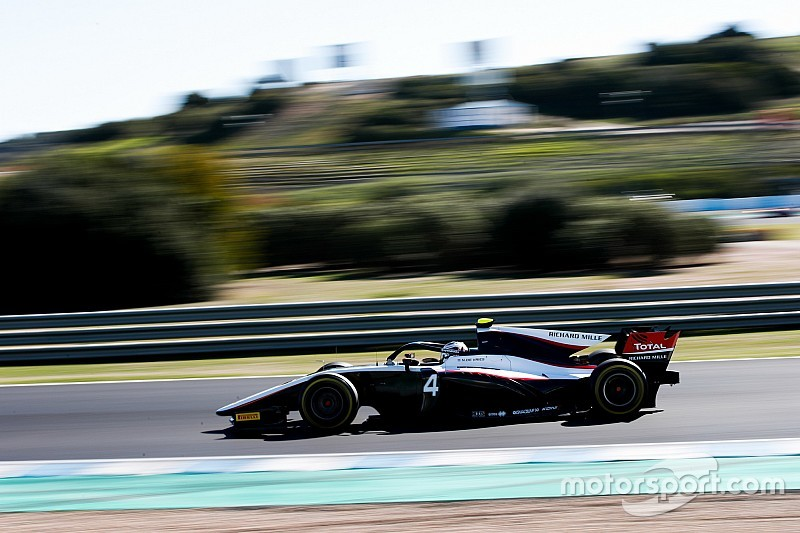 De Vries quickest again on second day of F2 test