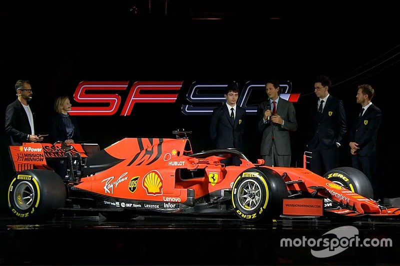 """New Ferrari F1 car features """"extreme"""" solutions"""
