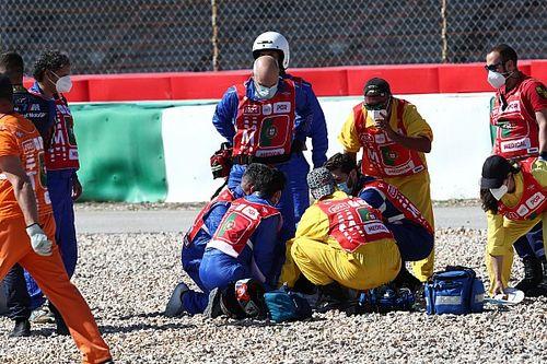 Тренировку MotoGP в Португалии прервали из-за серьезной аварии