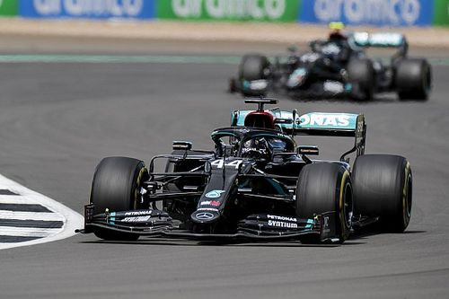 "Hamilton was pushing ""pretty flat-chat"" in British GP"