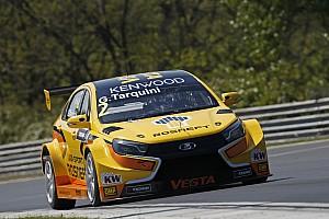 WTCC Practice report Hungary WTCC: Tarquini breaks lap record on resurfaced track in FP1