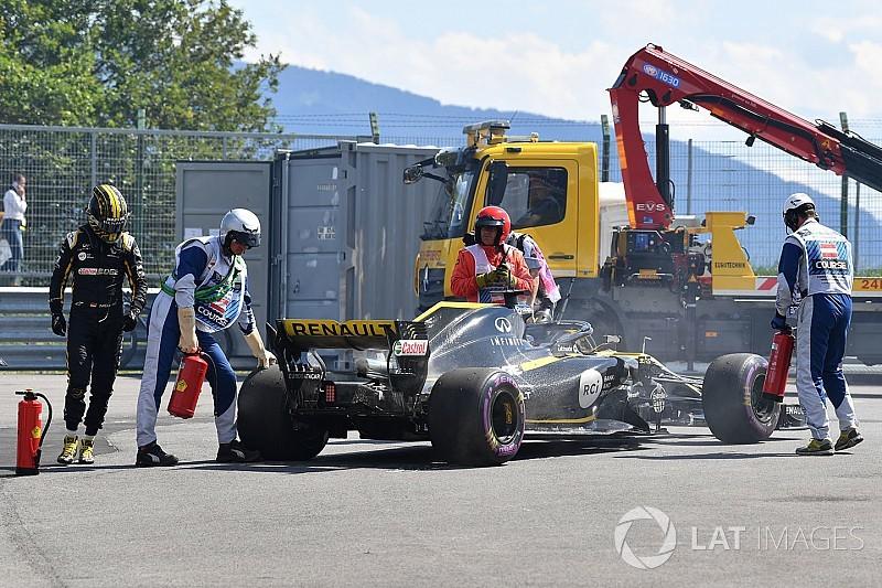 Hulkenberg, Avusturya'daki sorunun ardından yeni motora geçti