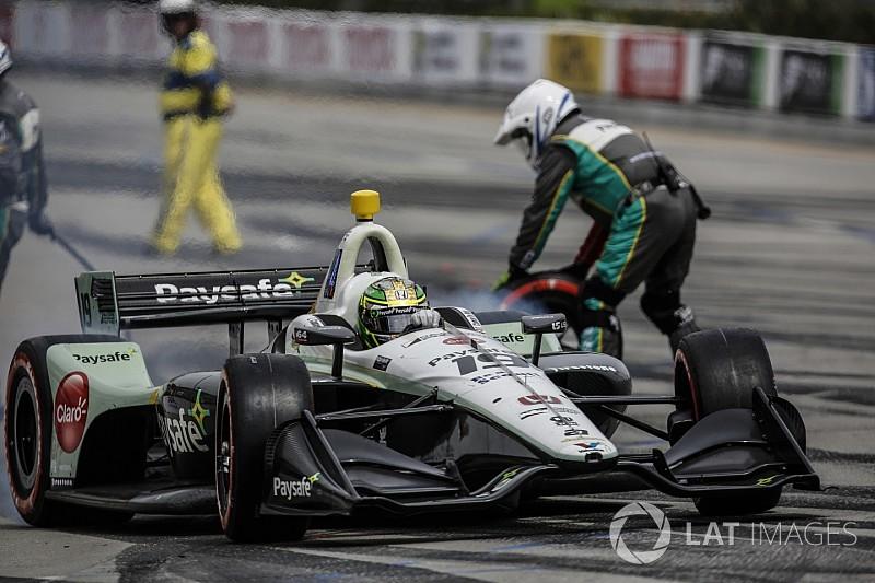 De Melo reemplaza al lesionado Fittipaldi para el GP de Indy
