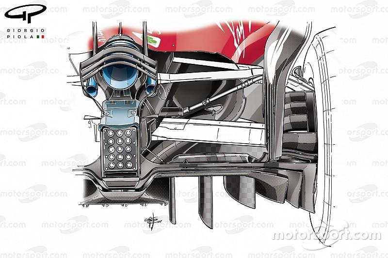 Análisis técnico: las ideas de los rivales de Mercedes para 2018