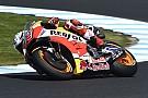 Marquez domineert eerste training voor Australische GP