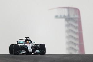 Формула 1 Отчет о тренировке Хэмилтон стал лучшим в первой тренировке Гран При США, Хартли – 14-й