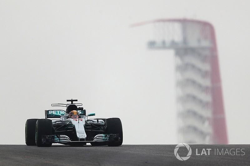 F1アメリカGP FP1速報:ハミルトンが首位。ハートレーは14番手スタート