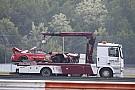 DTM René Rast hospitalizado tras su accidente en el DTM y no correrá el domingo