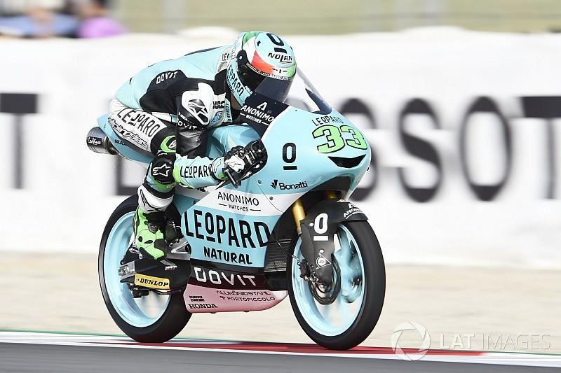 Moto3 Barcelona: Bastianini kazandı, Martin yarış dışı kaldı!
