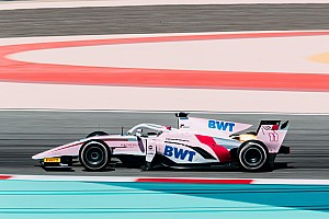 FIA F2 Testing report Mercedes protege Gunther fastest as F2 testing ends