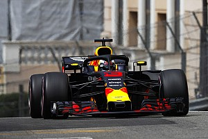 摩纳哥大奖赛FP1:里卡多带领红牛占据前二位