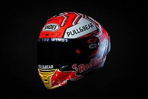 MotoGP Noticias Márquez estrena nuevo diseño de casco para 2018