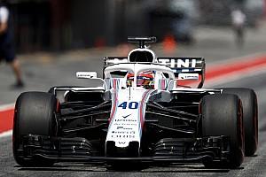 A Williams elismerte, Kubica 2017-ben az első teszten nem igazán győzte meg őket