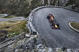 Formula 1 Ultime notizie Così Buemi e la Red Bull hanno sfidato il... Passo del Gottardo!