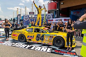 NASCAR Euro Breaking news Alon Day continues his winning ways in Euro Series