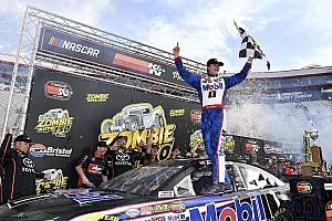 NASCAR Breaking news Todd Gilliland wins accident-filled K&N Pro Series race at Bristol