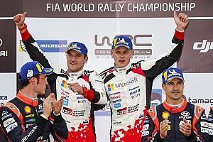 WRC Reaktion Ott Tänak: Desaströsem Start folgt souveräner Triumph
