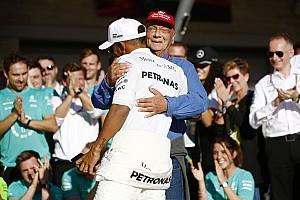 Formel 1 News Niki Lauda: Lewis Hamilton zwei Zehntel schneller als alle anderen