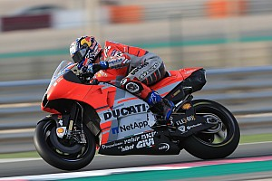 MotoGP Antrenman raporu MotoGP Katar: Birinci seansta Dovizioso lider, Rossi ikinci