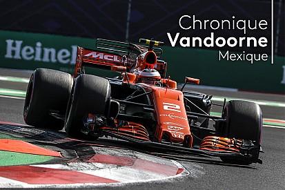Formule 1 Chronique Vandoorne - Une vitesse de pointe handicapante à Mexico