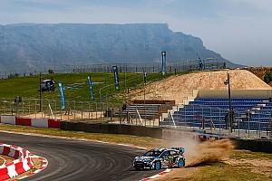 World Rallycross Sıralama turları raporu Güney Afrika WRX: Block, takımının son yarışında günü lider kapadı