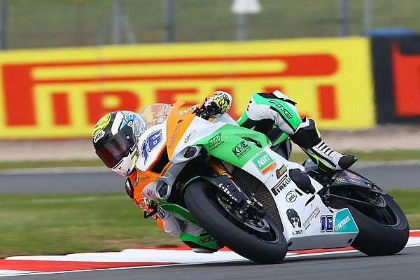Supersport Race report Donington Supersport: NRT nearly makes it three wins in a row