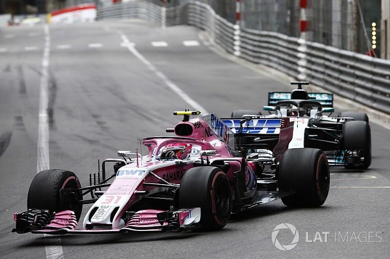 Force India rebate teorias sobre Ocon/Hamilton em Mônaco