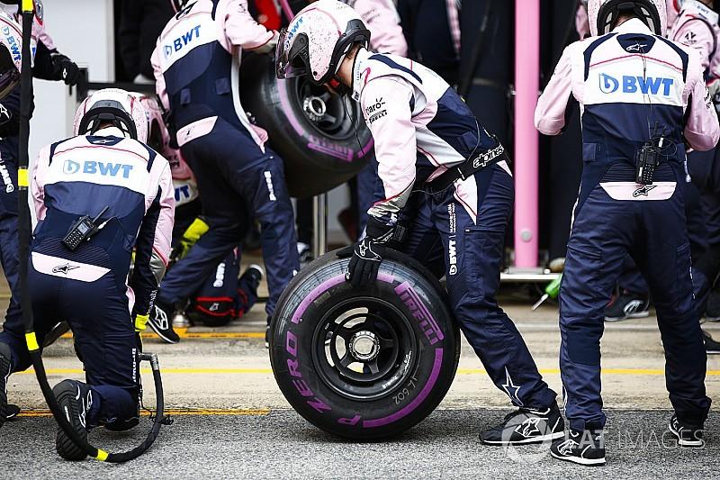 ピレリ、各タイヤのタイム差発表。再舗装のバルセロナで新たな問題も