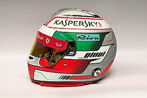 Formule 1 Diaporama Diaporama - Le casque d'Antonio Giovinazzi