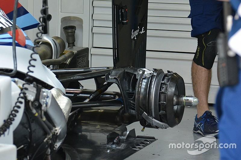 El fallo de Williams, causado por el cambio del conductor de freno