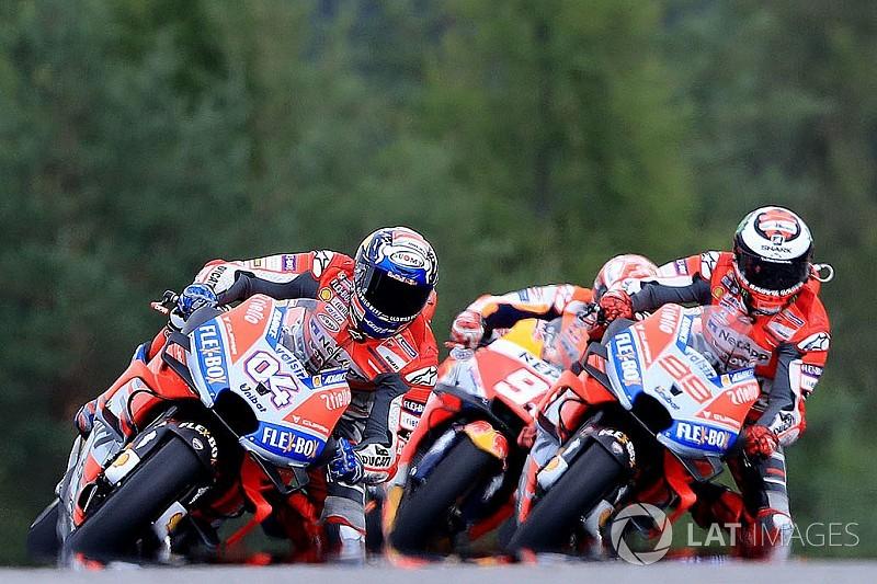 Companheiros da Ducati brigam e incendeiam MotoGP