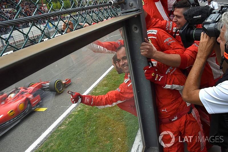 Belçika GP'nin en hızlı pit stopu Ferrari'den geldi