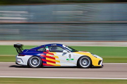 Carrera Cup Italia, Cerqui mette il sigillo sui test di Imola