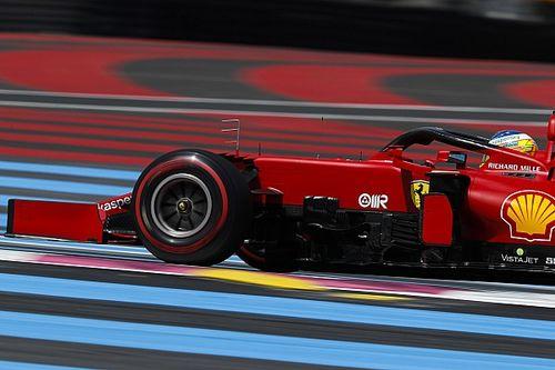 Sainz sobre el viernes de Ferrari en Francia: volvimos a la realidad