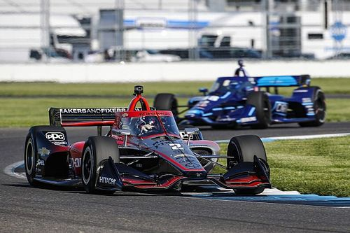 IndyCar GP Indy: Newgarden edges VeeKay, Power in FP2