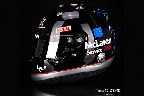 Ricciardo onthult Earnhardt-helmontwerp voor GP Verenigde Staten