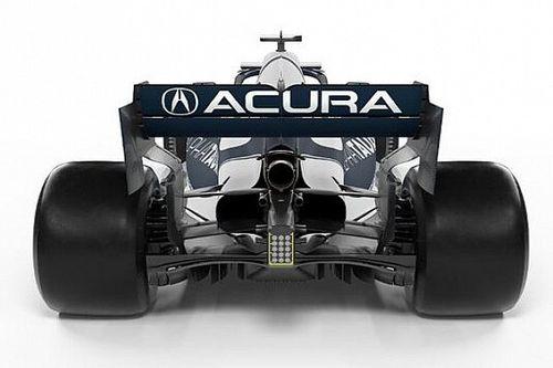 Red Bull en AlphaTauri in Austin uitgerust met Acura-branding