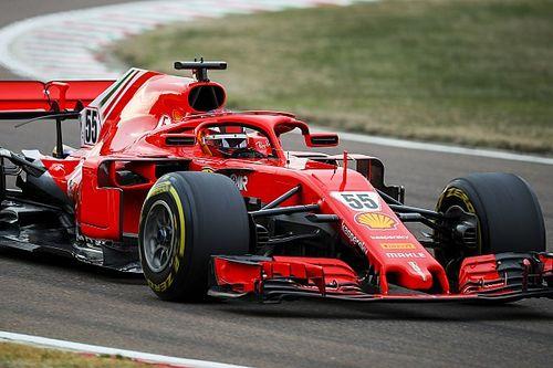 Photos - Les premiers essais de Carlos Sainz chez Ferrari