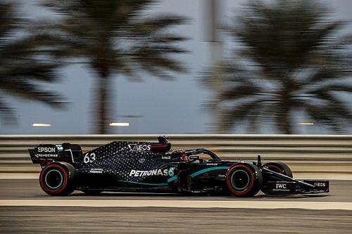 F1: Russell lidera primeiro treino do GP de Sakhir com a Mercedes