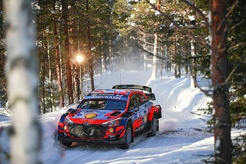 Adamo happy with Hyundai fightback in WRC Finland