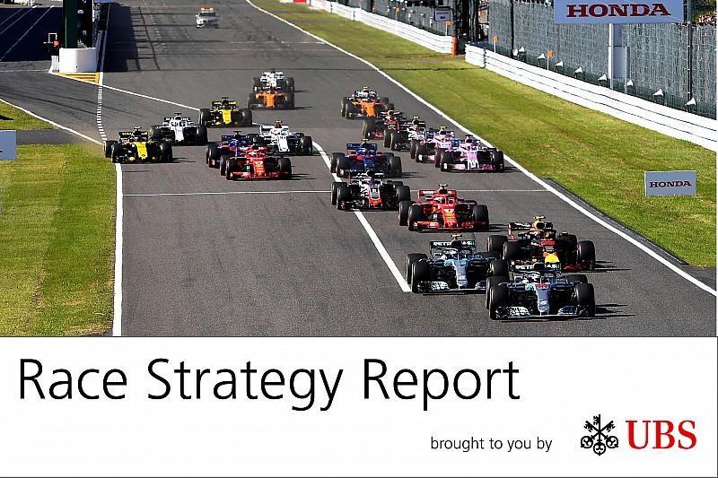 Report strategie: a Suzuka la Ferrari ha regalato la vittoria alla Mercedes. Che battaglia a centro classifica!