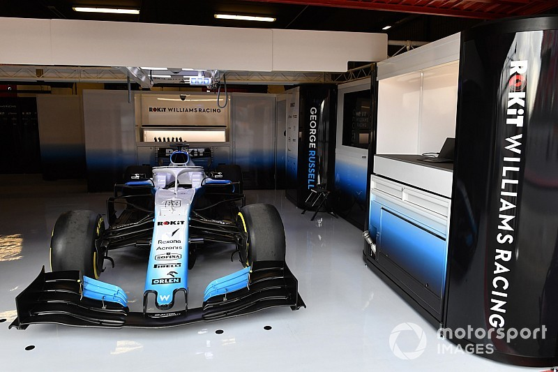 Williams' car to arrive in Barcelona on Wednesday morning