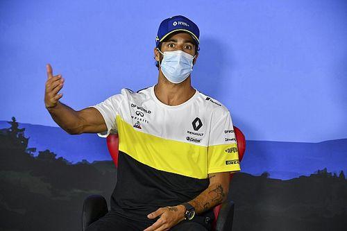 """Ricciardo: """"Alonso sulla Renault al venerdì? Non sulla mia!"""""""