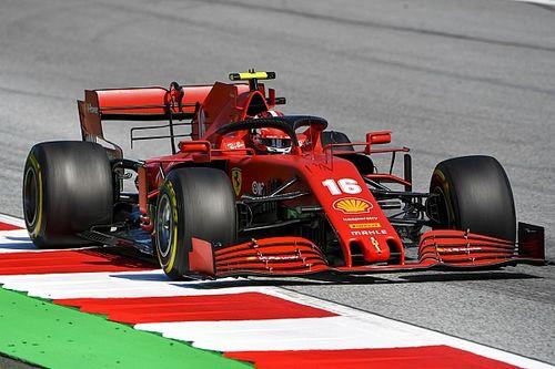 Ferrari: Vettel vede dei miglioramenti, Leclerc meno