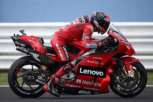 Bagnaia lidera el test en Misano y Márquez rueda con la Honda 2022