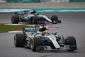 Formel 1 Vorschau Mercedes trotzt Malaysia-Flop: Hamilton und Bottas mit Update