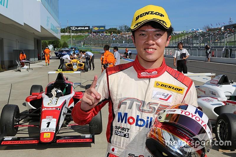 【FIA-F4】第12戦鈴鹿:宮田莉朋が3勝目。笹原右京との直接対決制す