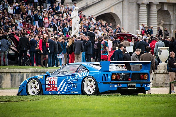 Vintage Special feature Ferraris star at Chantilly Arts and Elegance Richard Mille event