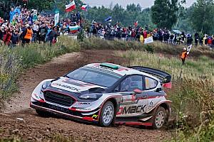 WRC Resumen de la etapa Elfyn Evans toma el liderato en Polonia
